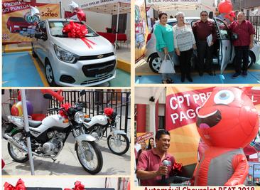 Felicidades a nuestros 5 ganadores del 2do. SORTEO CPT PREMIA TU PAGO PUNTUAL