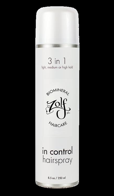 ZOLF © In Control Biomineral Hairspray (8.5 fl oz)