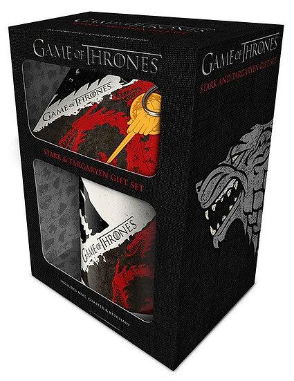 Game of Thrones Geschenkbox Stark & Targaryen