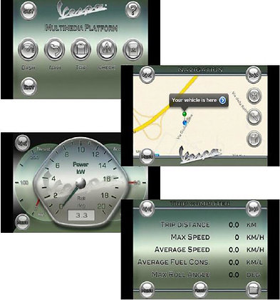 Multimedia Interface Vespa