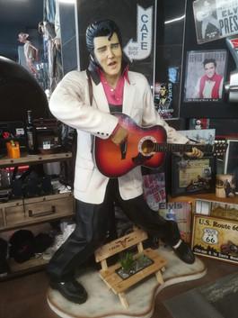Elvis Stehend mit Gitarre  Figur Life Si