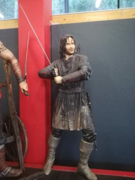 Aragorn Herr der Ringe Figur Life SIze -