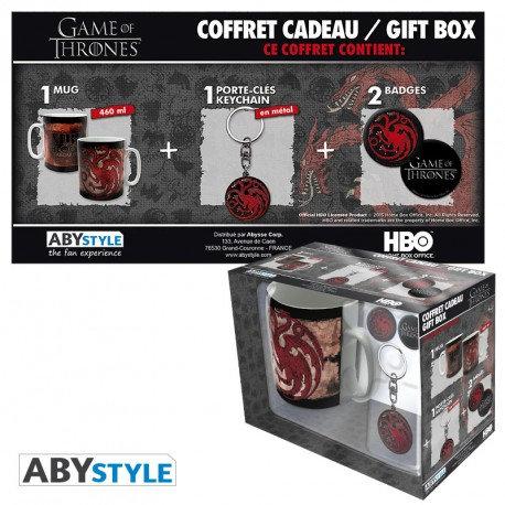 Game of Thrones Geschenkbox Targaryen