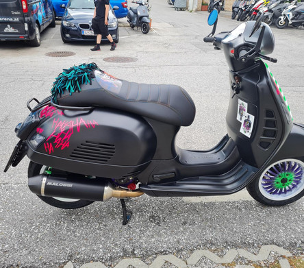 Vespa GTS 125 Joker Tuning  Polini Malossi Zelioni Rizoma SIP Scooter Center Egger Mils (3