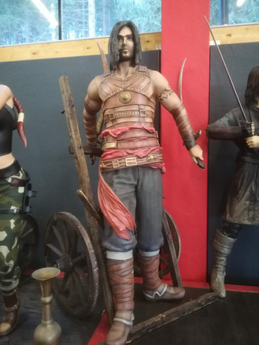 Prince of Persia Life SIze Figur - Muckl