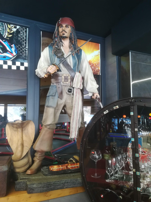 Fluch der Karibik Jack Sparrow  Figur Li