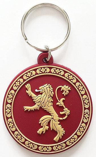 Game of Thrones Gummi-Schlüsselanhänger Lannister 6 cm