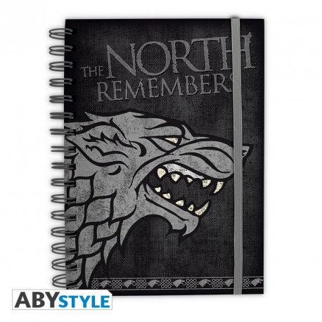 Game of Thrones Notizbuch Stark