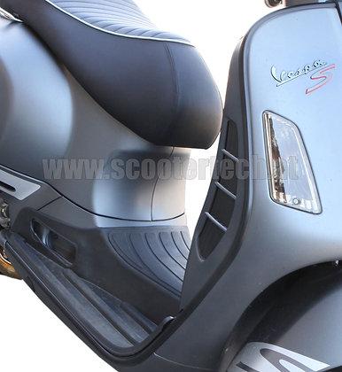 Monoschlitzrohr / Beinschildleisten Vespa GT / GTS