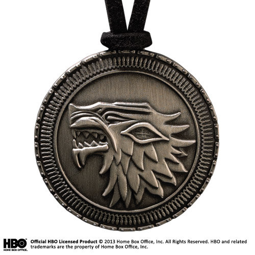 Game of Thrones Schild am Lederband