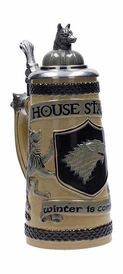 Game of Thrones Bierkrug Stark