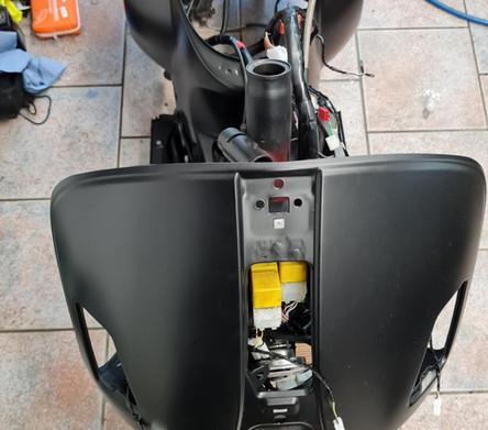 Vespa GTS 125 Joker Tuning  Polini Malossi Zelioni Rizoma SIP Scooter Center Egger Mils (2