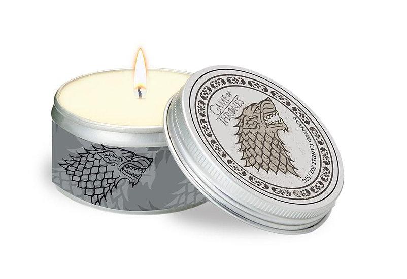 Game of Thrones Kerze in Blechdose House Stark (2 oz. / 60 ml)