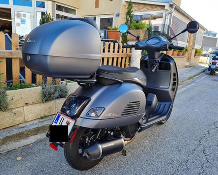 Vespa GTS 125 iget Supersport Tuning Malossi Polini Scooter Center Egger Mils Zylinderkit