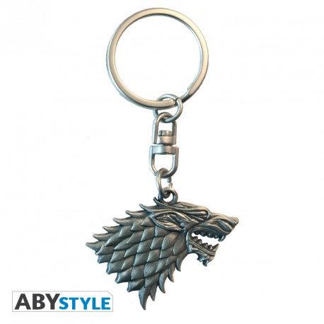 Game of Thrones Schlüsseanhänger 3D Stark