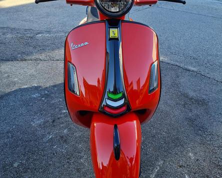 GTS 300 Tuning Orange Tuning Black Kit Polini Zelioni Rizoma Scooter Center Egger (9).JPG