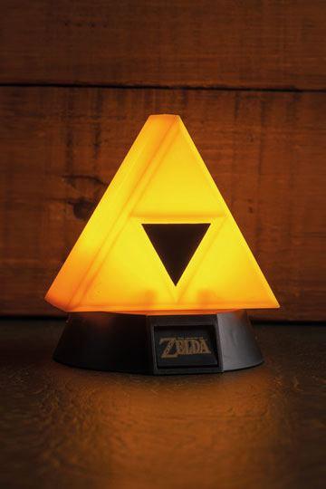 Legend of Zelda 3D Lampe Triforce 10 cm
