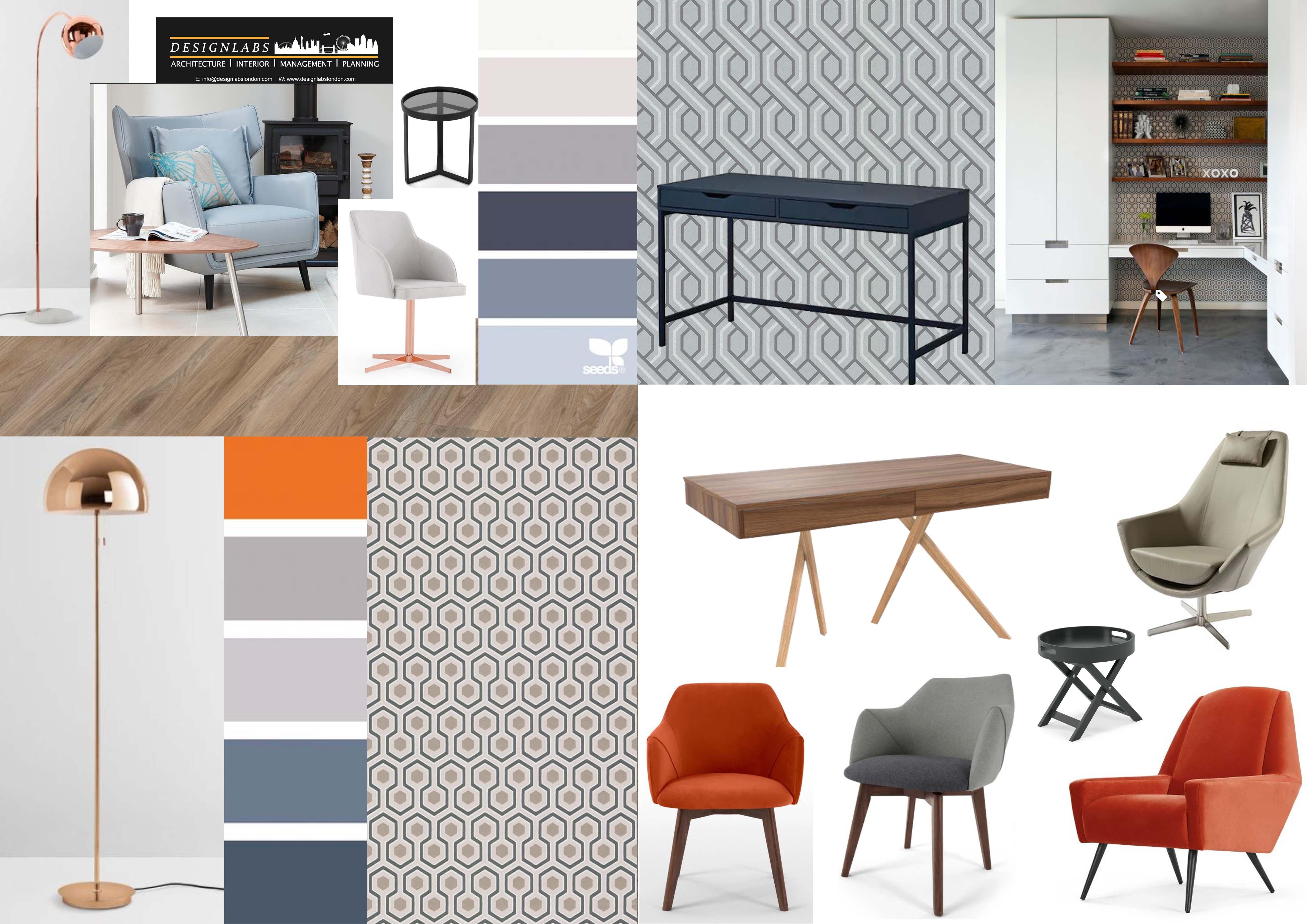 contemporary colour scheme interior design layout