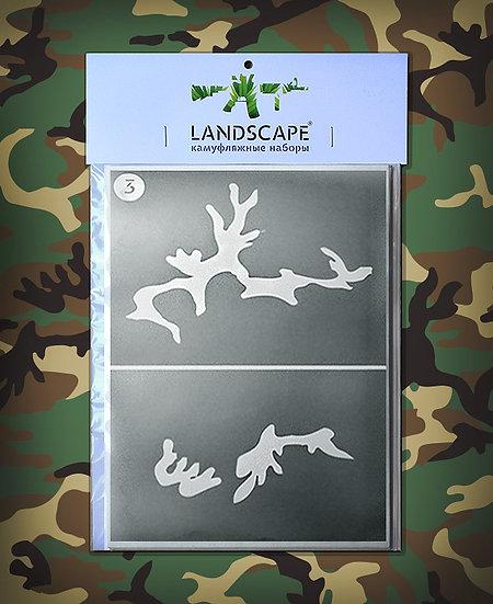 Woodland Landscape Paint stencil Package