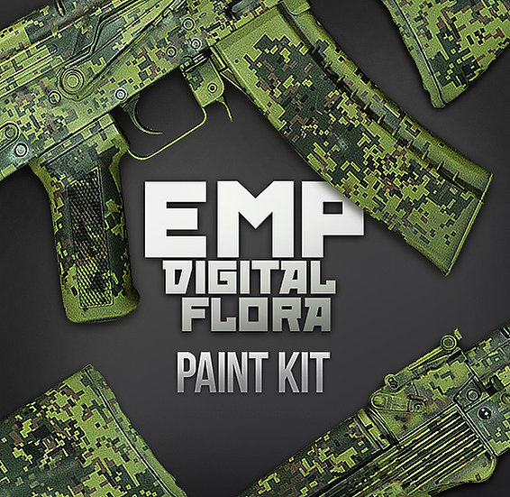 Russian EMP Camouflage Stencils and Paint Kit