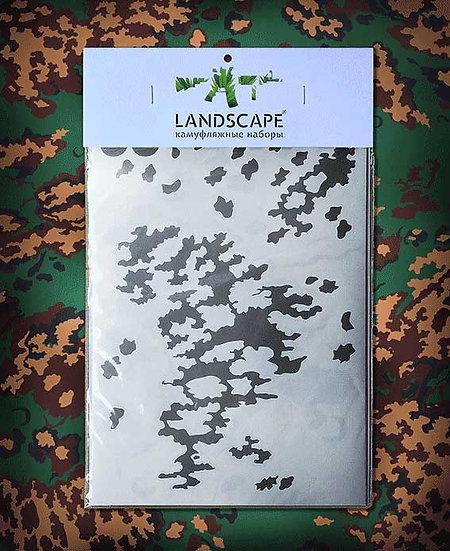 RUSSIAN PARTIZAN Landscape Paint stencil Package