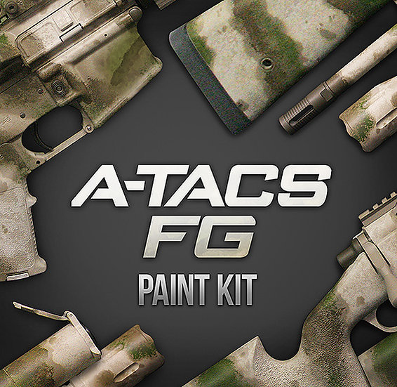 A-tacs FG Camouflage Stencils and Paint Kit
