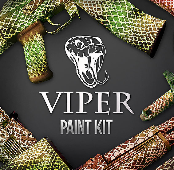 Viper Camouflage Stencils and Paint Kit