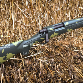 Remington 700 paint Russian Berezka