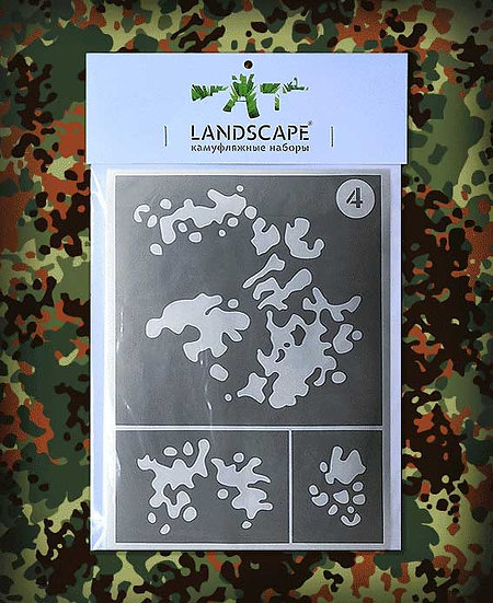 FLECKTARN Landscape Paint stencil Package