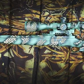 Remington 700 SPS Varmint painted Viper