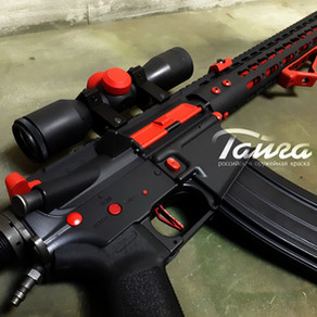 M4 painted Black and Red colours
