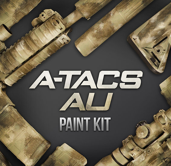 A-tacs AU Camouflage Stencils and Paint Kit