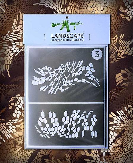 Sitka Landscape Paint stencil Package