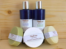 Handcrafted natural and organic hair care line Olea Cocos