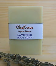 Lavender natural and organic soap Olea|Cocoss