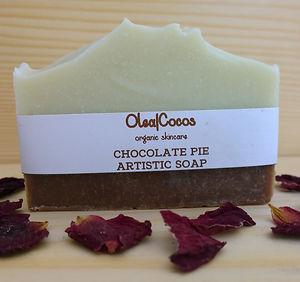 Cocoa Powder Chocolate Pie Natural and organic soap Olea Cocos