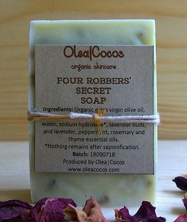 Four Robbers Secret Soap