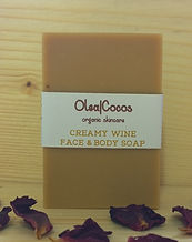 Red wine natural and organic soap Olea|Cocos