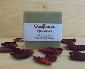 Sea Clay Shaving Bar Olea|Cocos