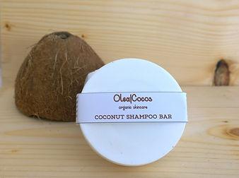 Coconut shampoo bar Olea Cocos
