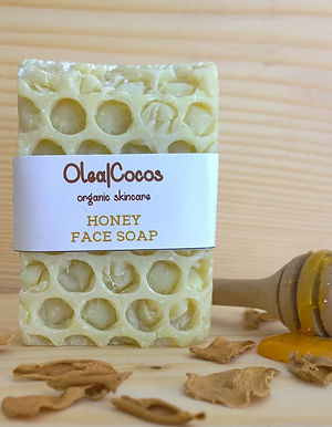 Honey natural and organic soap Olea Cocos