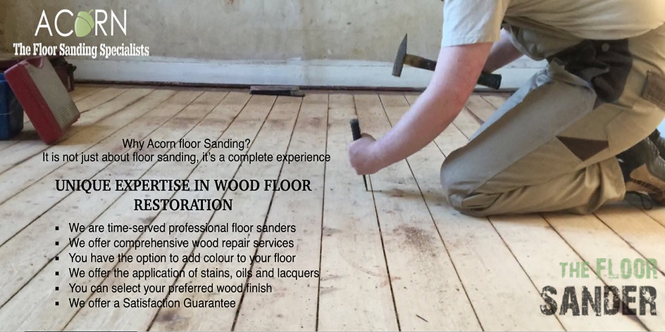 oue unique expertise in wood floor restoration
