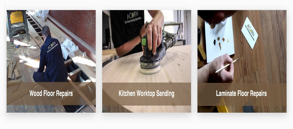 we provide a combination of wood floor restoration services