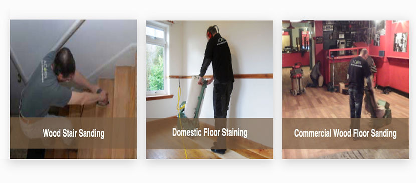 wood stair sanding, Domestic floor sanding, commercial wood floor sanding