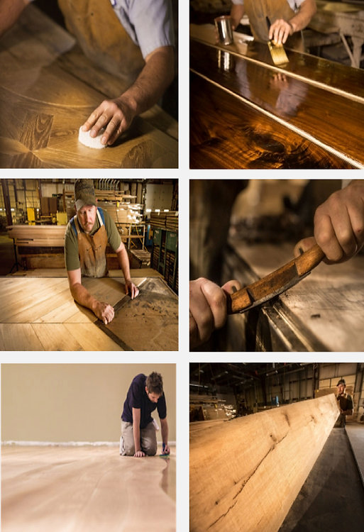 Restoring different types of wood floors