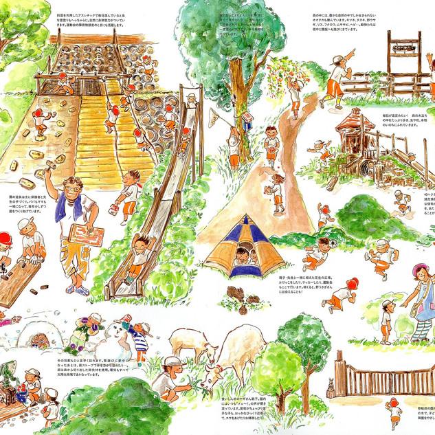東京内野学園 ゆりかご幼稚園パンフレット