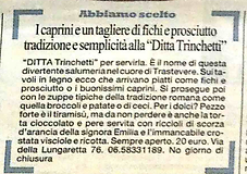 Press Ditta Trinchetti