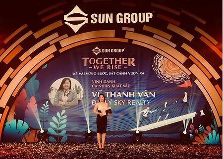 Vinh danh cá nhân xuất sắc Sun Group