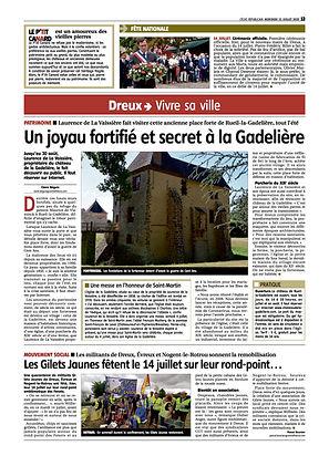 Un joyau fortifié et secret à la Gadeliè