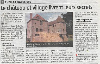 Le château et village livrent leurs secr